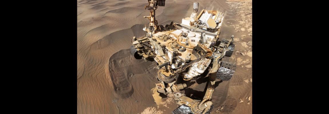 Mars, Selfie Curiosity dzień 1228
