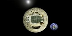 Planetka Księżyca z Chińskiego łazika