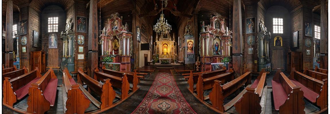 Wirtualna wycieczka z Kościoła pw. Zwiastowania NMP w Tomaszowie Lubelskim